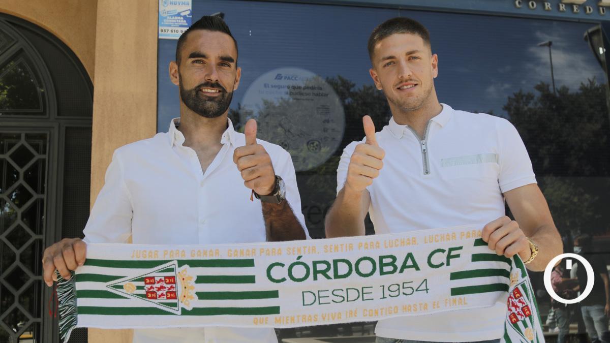 Felipe Ramos, junto a Carlos Marín, en su presentación