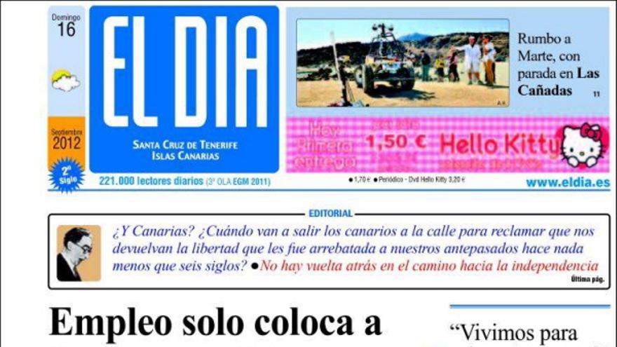 De las portadas del día (16/09/2012) #4