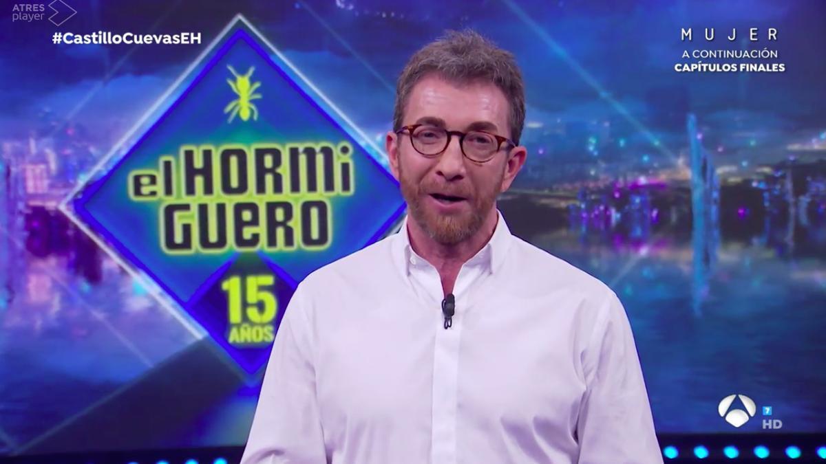 Pablo Motos, en el último 'Hormiguero' de la temporada 15