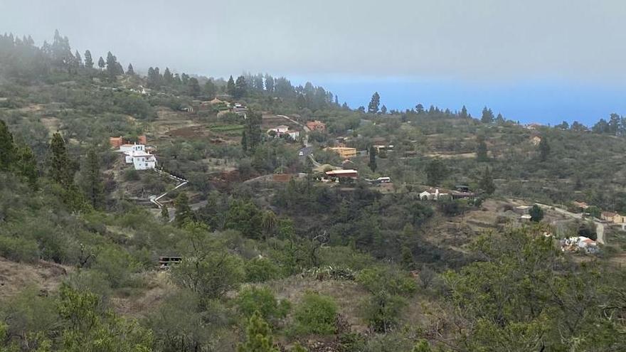 Paisaje de Puntagorda.