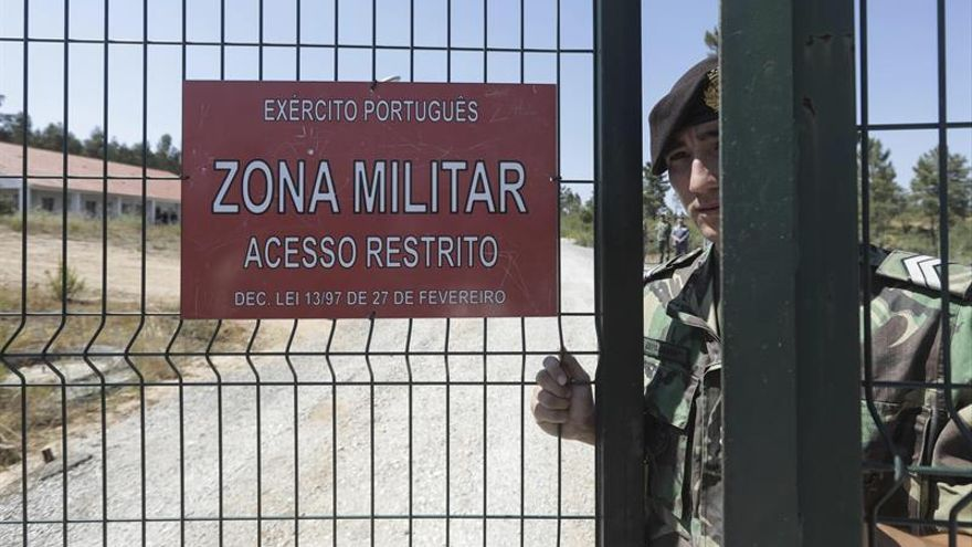 Se refuerza la seguridad de los almacenes de armamento militar en Portugal