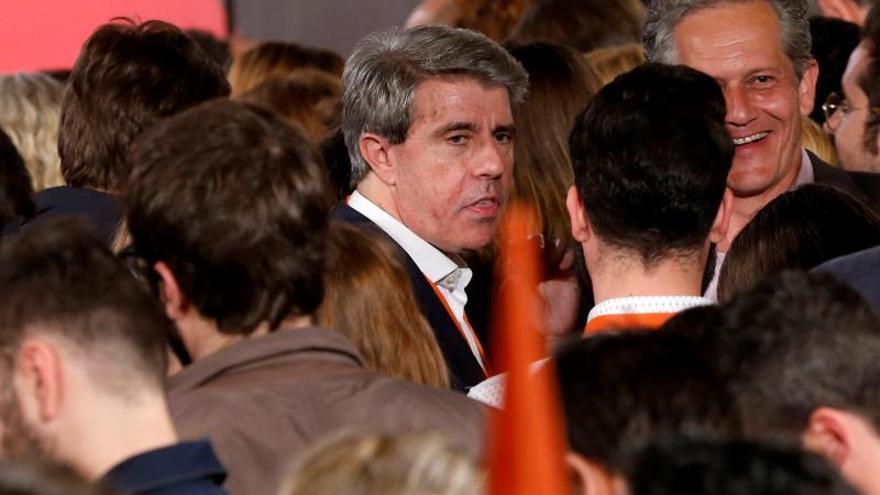 Garrido deja su acta de diputado en la Asamblea de Madrid