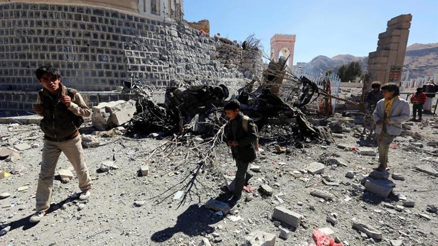La coalición árabe niega estar bloqueando todos los puertos del Yemen