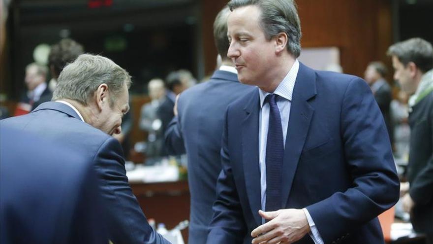 Tusk y Cameron discutirán cómo proceder hasta diciembre sobre el Reino Unido