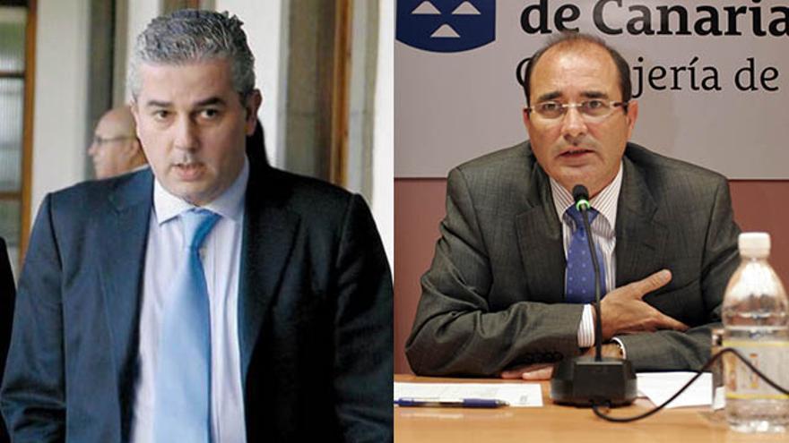 Javier Artiles y Guillermo Martinón.