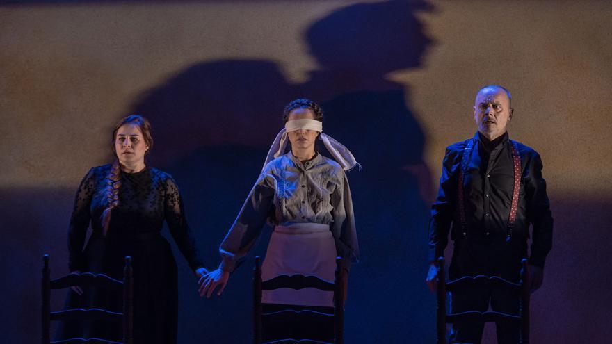 Escena de 'Monsieur Goya, una indagación'