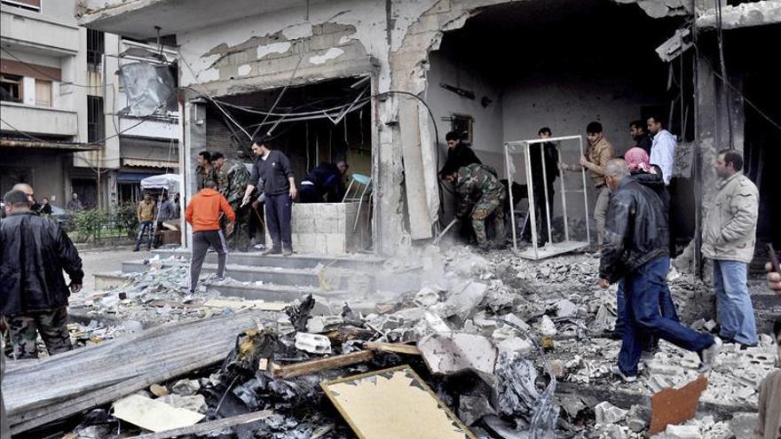 Mueren 52 civiles en un bombardeo de la colación internacional en Siria