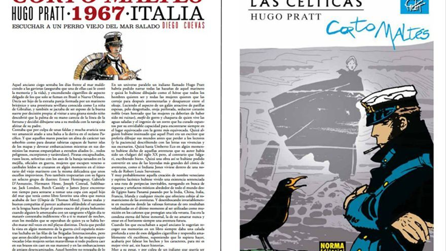 Corto Maltés, de Hugo Pratt en '100 cómics'