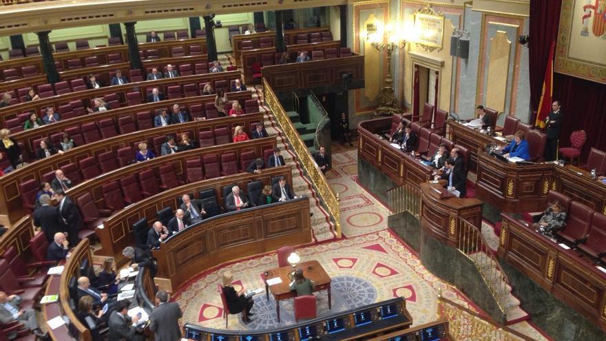 FOTO: Así estaba el Congreso durante la intervención de Alberto Garzón
