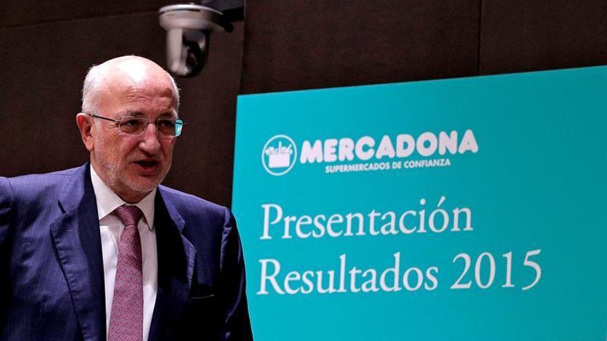 Mercadona gana 611 millones de euros en 2015, un 12 % más que el año anterior
