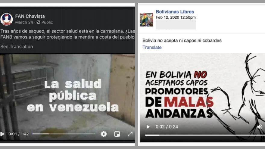 Una empresa de EEUU gastó millones en una guerra sucia en Facebook contra Maduro, Morales y López Obrador