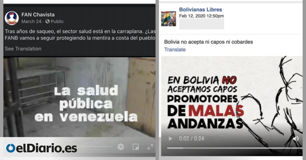 """Una empresa de EEUU gastó millones en una """"guerra sucia"""" en Facebook contra  Maduro, Morales y López Obrador"""