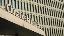 El juicio se celebró en la Ciudad de la Justicia de Barcelona