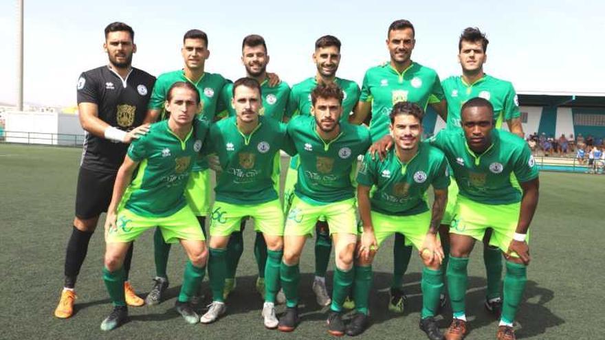El equipo de Quico de Diego, en el Francisco Melián