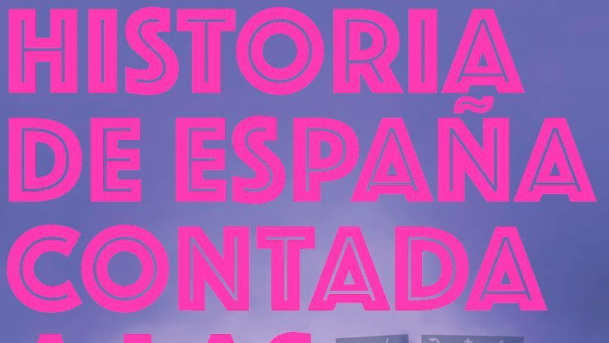 Portada de 'Historia de España contada a las niñas'
