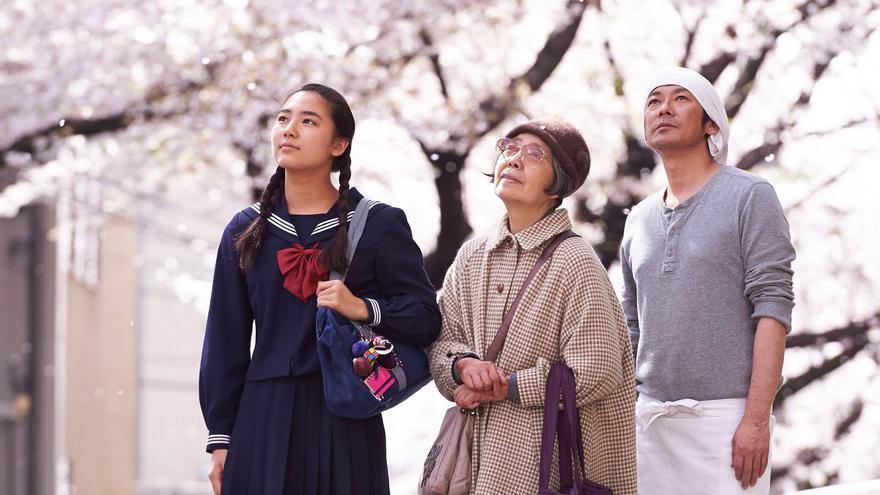Cerezos en flor en 'Una pastelería en Tokio'