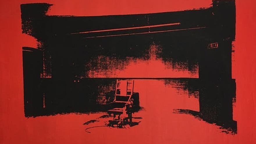 'La silla eléctrica', el cuadro de Warhol que Cooper encontró 40 años después