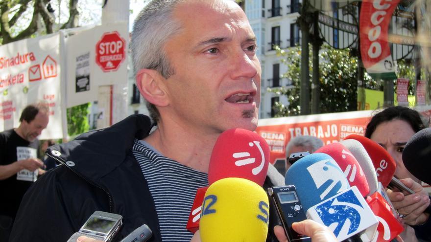 """Permach muestra su """"más absoluto rechazo"""" al ataque a la sede del PP y aboga por """"métodos pacíficos y democráticos"""""""