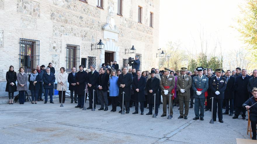 Acto institucional en honor a la Constitución en las Cortes de Castilla-La Mancha