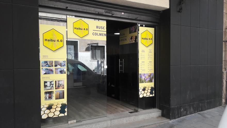 Local para colmenas de Haibu 4.0 en l'Hospitalet