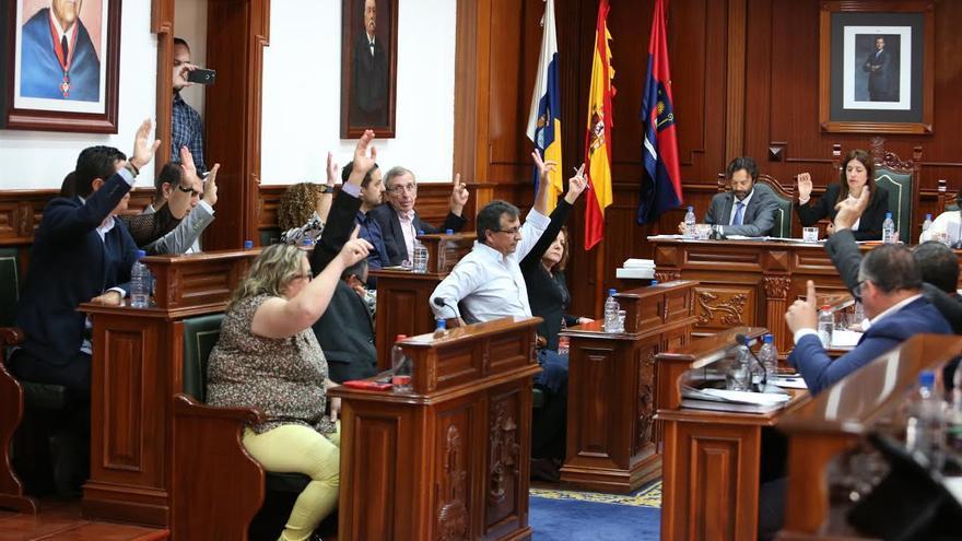 Unanimidad en el pleno del Ayuntamiento de Telde. (ALEJANDRO RAMOS)