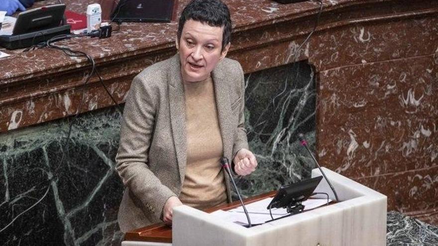 María Marín, esta semana en la Asamblea regional