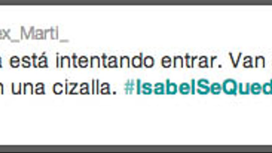 10h16 Stopdesahucios #IsabelSeQueda