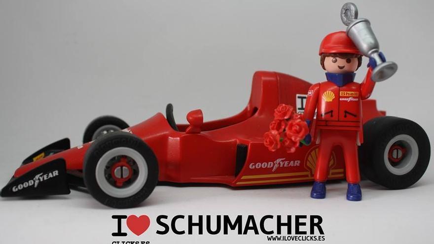 I love Schumacher