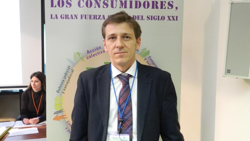 El representante de la asociación Adicae Fernando Herrero.