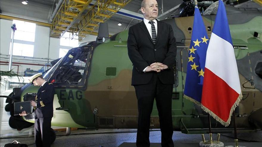 """El ministro de Defensa francés advierte de posible """"desintegración"""" de Siria"""