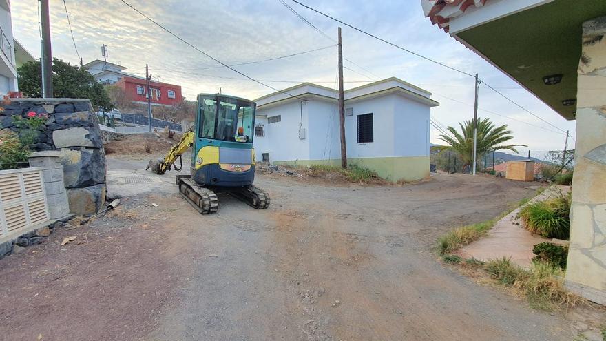 Tijarafe inicia la mejora del Camino El Lomo de la red de senderos locales