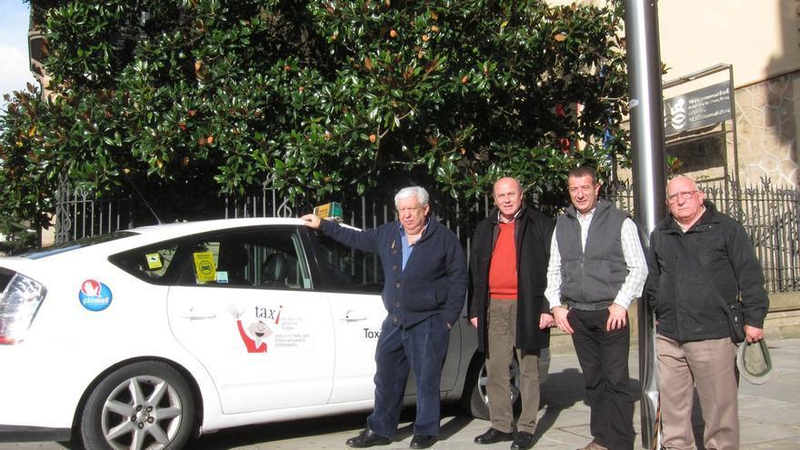 La Mancomunidad de la Comarca de Pamplona lanza una campaña para incentivar el uso del taxi