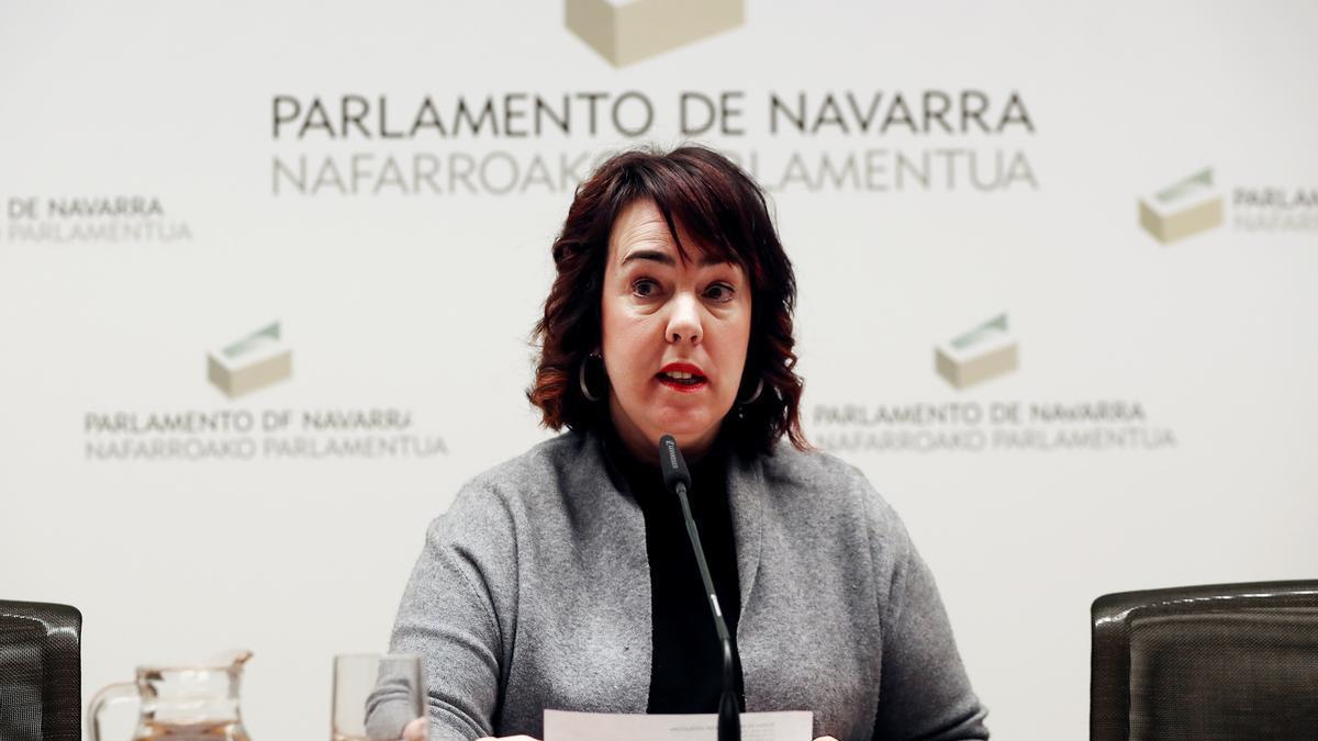 Ainhoa Aznárez, en una fotografía de archivo.
