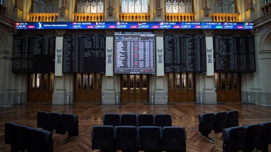 El IBEX 35 baja un 0,07 por ciento tras la apertura, hasta los 9.122 puntos
