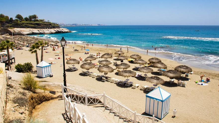 Playa del Duque, en el municipio tinerfeño de Adeje