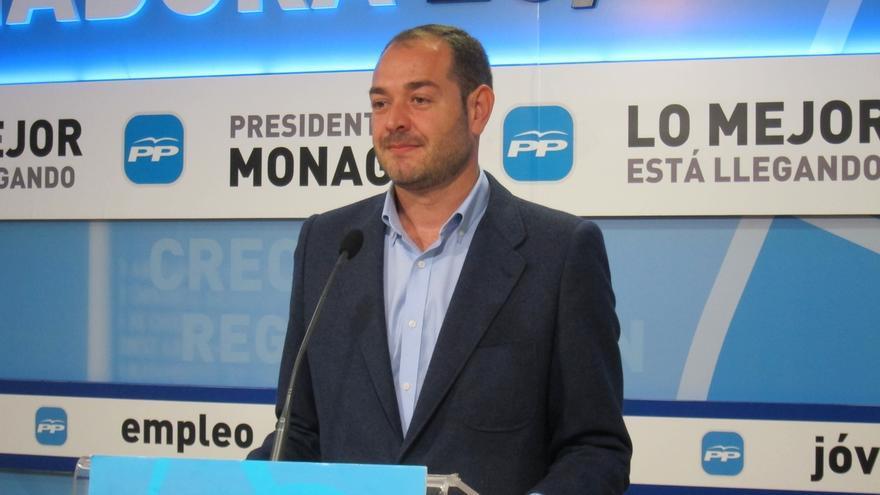 """PP extremeño exige a PSOE, IU y PREx CREx que pidan """"perdón de rodillas"""" a Monago por alimentar una """"conspiración falsa"""""""