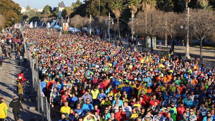 Miles de participantes en el 10K