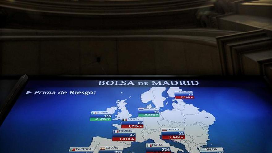 La prima de riesgo española baja de 200 puntos básicos