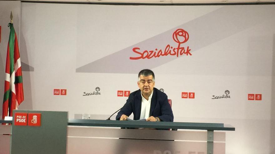 El secretario de Organización del PSE-EE, Miguel Ángel Morales.