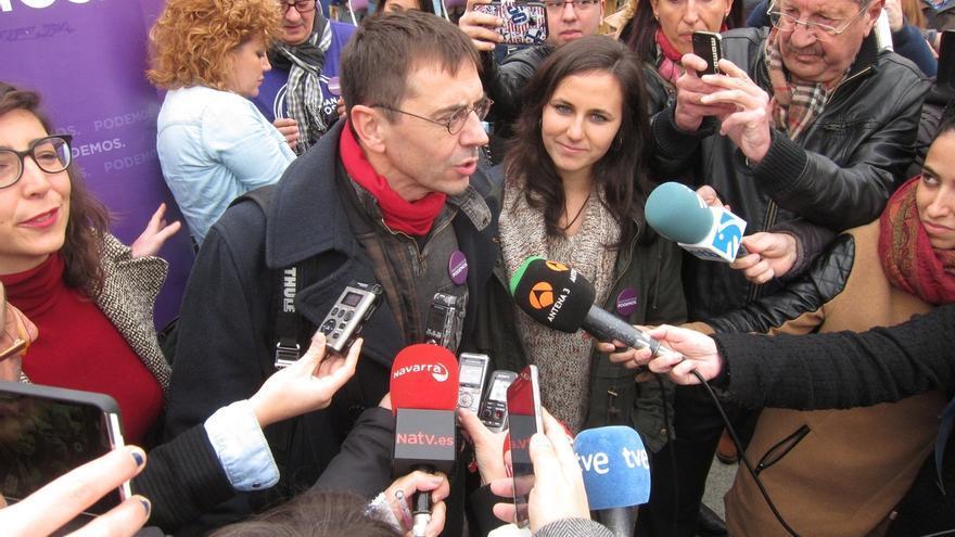 """Monedero dice que Iglesias representó """"el coraje y la defensa del pueblo"""" y que Santamaría """"mintió"""" sobre él"""