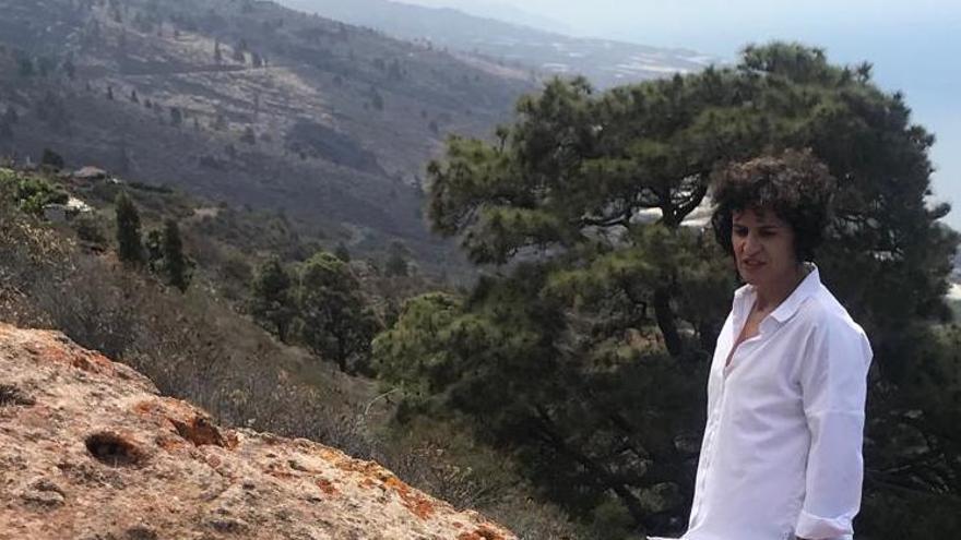 Jovita Monterrey,  consejera de Cultura y Patrimonio Histórico del Cabildo de La Palma.