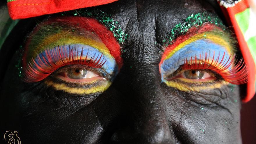 Ojos de Almendra', primer premio del VI Concurso de Fotografía de Indianos 2016. Autor: JOSÉ AYUT.