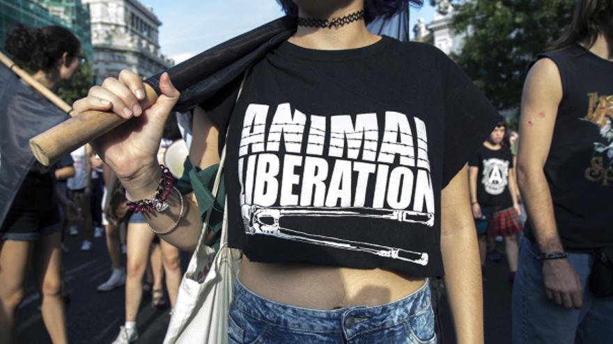 Activista del movimiento por la liberación animal