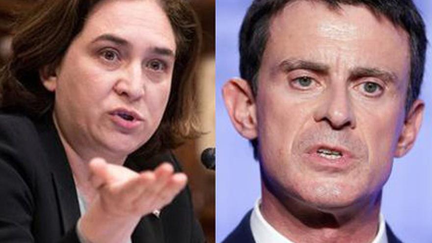 Valls y Colau serán antagonistas en campaña