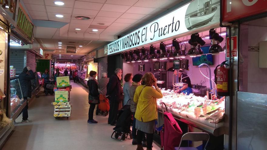 Mercado de Guillermo de Osma, en Madrid.