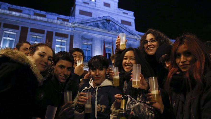Madrid celebra la preparación de la Nochevieja con una gran asistencia