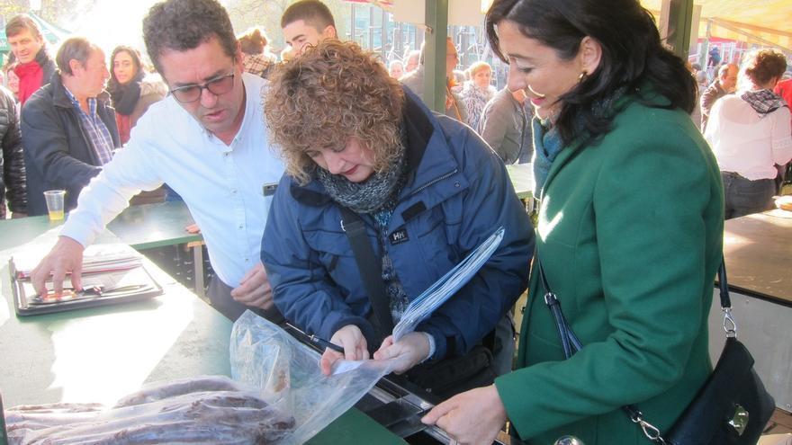 Todos los puestos de la Feria de Santo Tomás en Bilbao pasan la inspección alimentaria y sanitaria sin incidencias