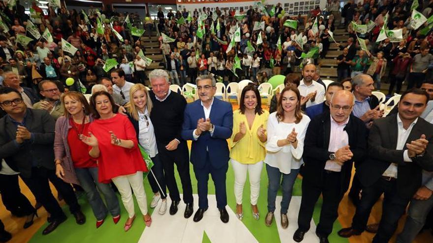 Mitin de Nueva Canarias celebrado en Gran Canaria