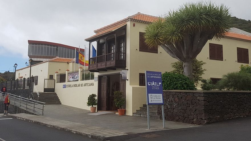 Escuela Insular de Artesanía, en Villa de Mazo.