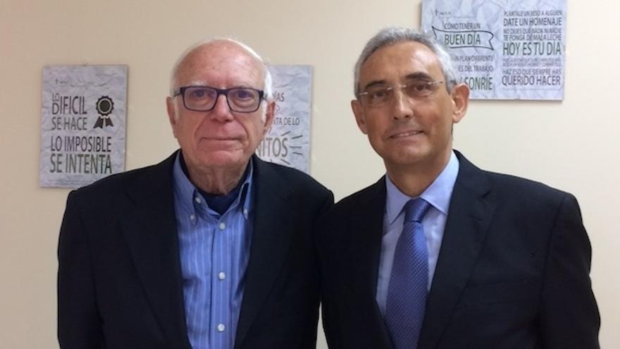 Diego Cambreleng junto a Fernando Fraile